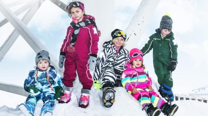Мембранний одяг для дітей