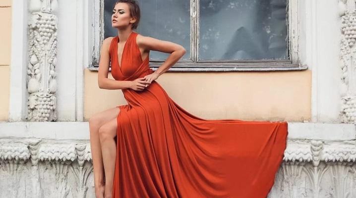 Теракотовий колір в одязі