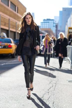 Чорний колір в одязі: як поєднувати і кому йде?