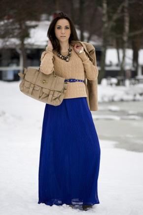 Поєднання синього кольору в одязі
