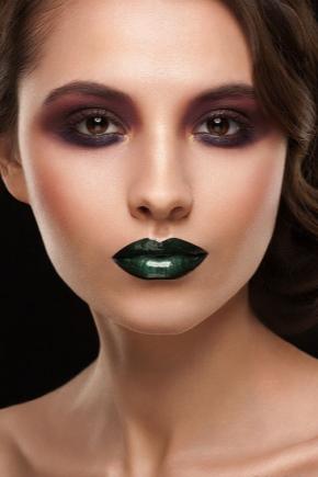 Зелена губна помада