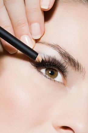 Чорний олівець для очей