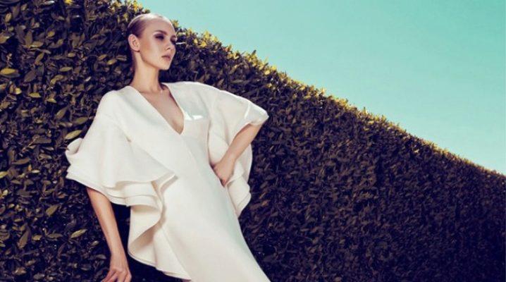 Сукня з воланом – для романтичних натур