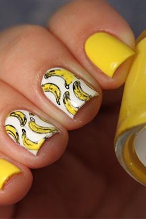 Манікюр з бананами