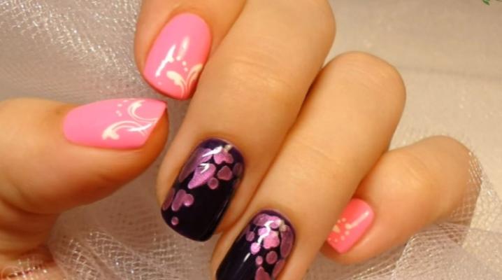 Малюнки на нігтях гель-лаком