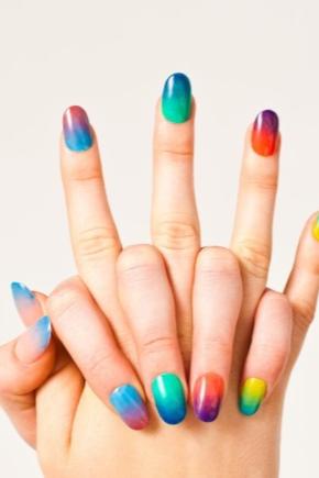 Поєднання кольорів лаку для нігтів
