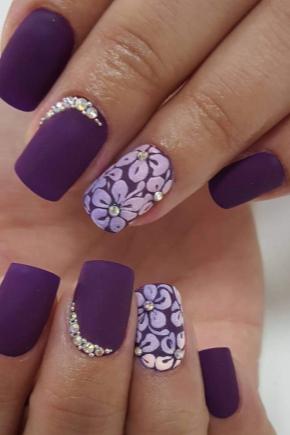 Фіолетовий гель-лак
