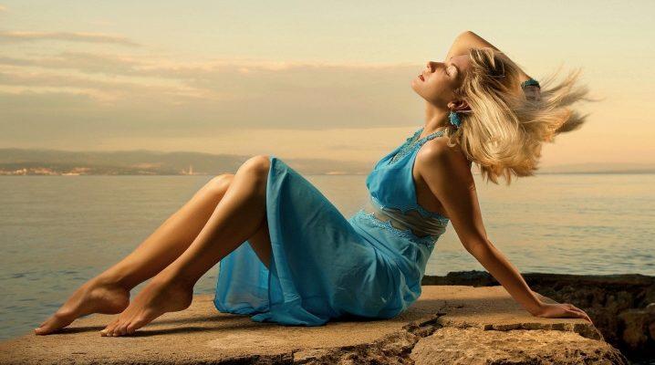 Бірюзове плаття: моделі і з чим носити?