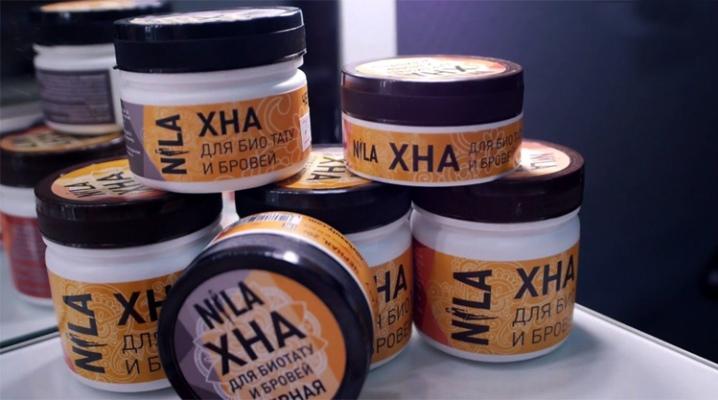 Хна для брів Nila
