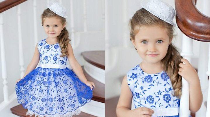 Модні і красиві сукні для дівчинки 2-3 років