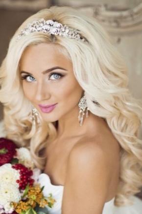 Весільний макіяж для блондинок