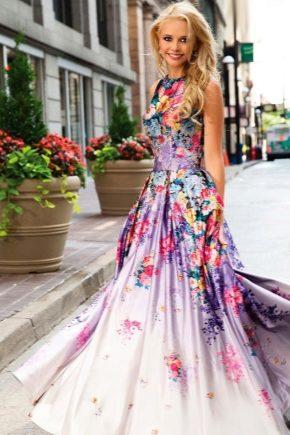 Літнє плаття в підлогу – новинки 2018 року