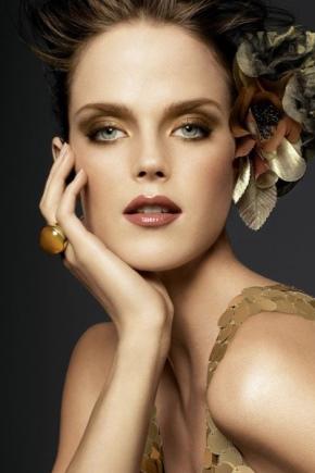 Золотий макіяж