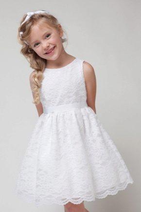 Ажурне плаття для дівчинки