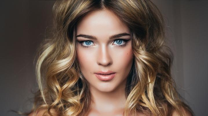 Контуринг волосся