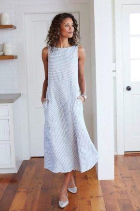 Літні плаття з льону – літо з комфортом!