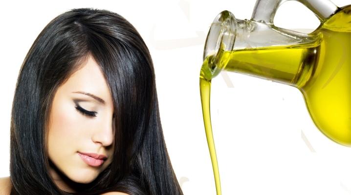 Маска для волосся з оливковою олією