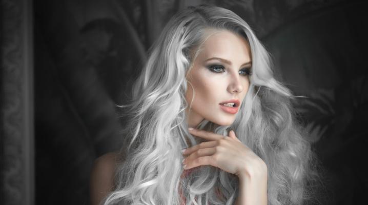 Сірий тонік для волосся