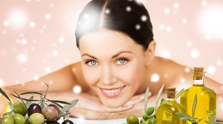 Оливкова олія для обличчя