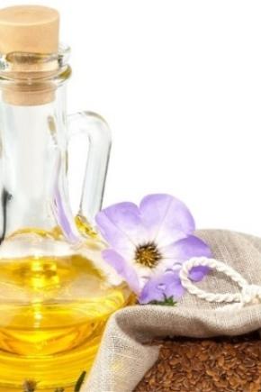 Лляне масло в косметології