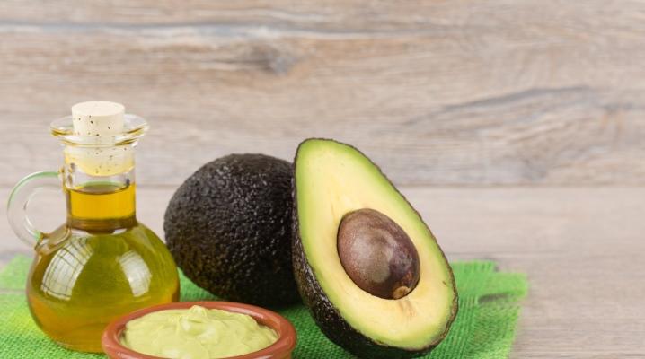Косметичне масло авокадо