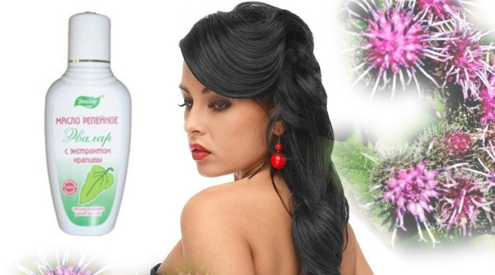 Реп'яхову олію з кропивою для волосся