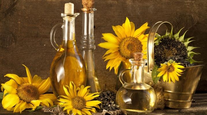 Соняшникова олія для волосся