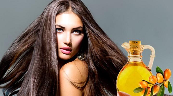 Застосування арганової олії для волосся