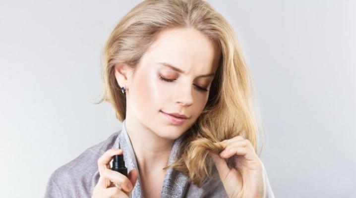 Масло-спрей для волосся