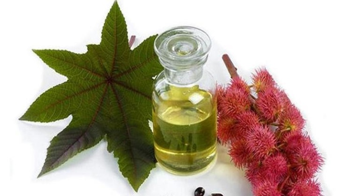 Рицинова олія для росту волосся