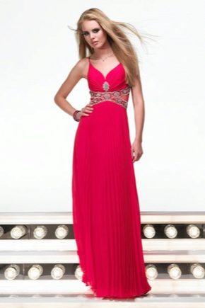 Вечірнє плаття рожевого кольору
