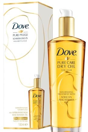 Масло для волосся Dove