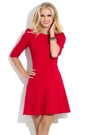 Червоне коктейльне плаття 2018