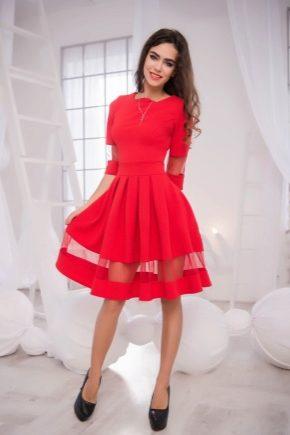 Вечірнє плаття червоного кольору