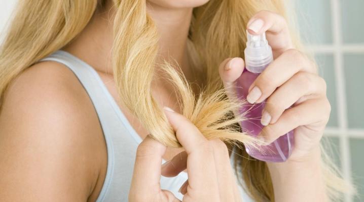 Зволожуючі спреї для волосся