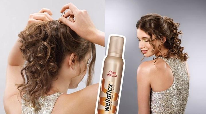 Мус для волосся