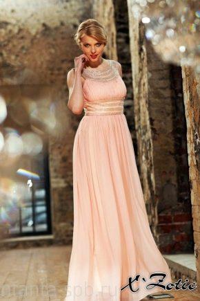 Вечірні сукні з шифону