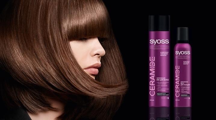 Мус для волосся Syoss