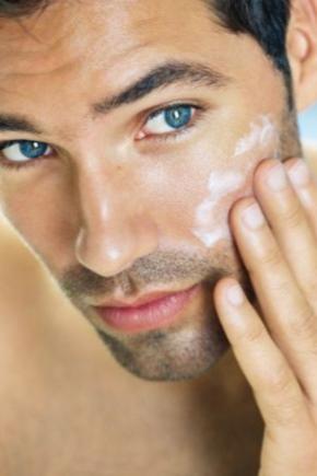 Чоловічий крем для обличчя та рук