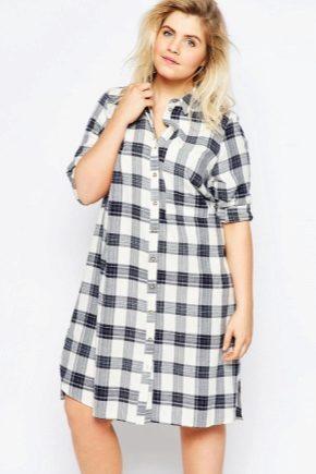 Сукні-сорочки для повних жінок