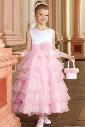 Нарядну сукню з фатіну для дівчинки