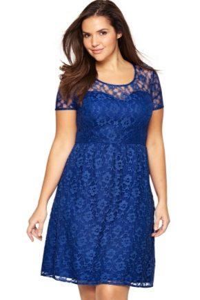 Гіпюрові сукні для повних жінок