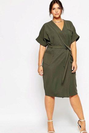 Сукня-халат великого розміру