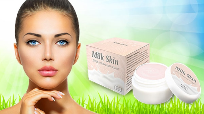 Відбілюючий крем Milk Skin