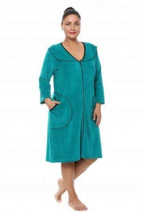 Домашні сукні великих розмірів для повних жінок