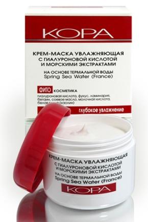 Крем Kora з гіалуронової кислотою