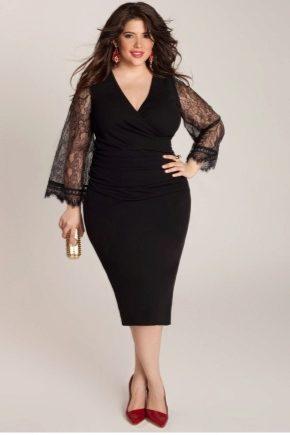 Трикотажні сукні великих розмірів
