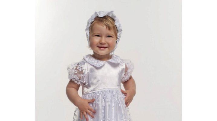 Хрестильне плаття для дівчинки