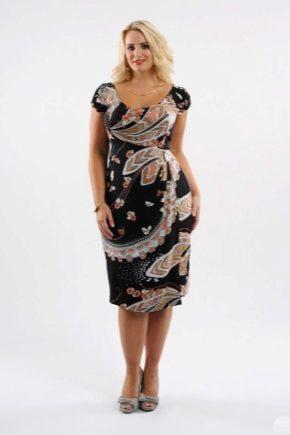 Літні сукні для повних жінок