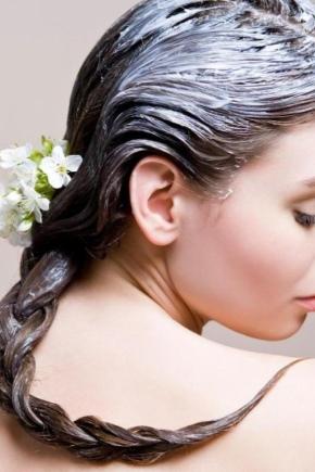 Натуральний бальзам для волосся